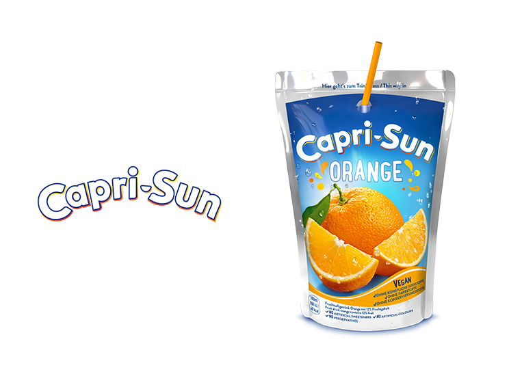 Capri-Sun -Logo and Pouch