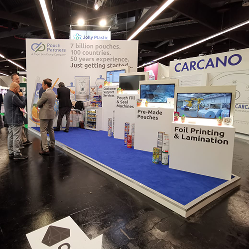 Our booth at Fachpack 2019