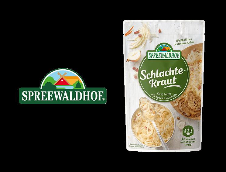 Spreewaldhof - Logo and pouch